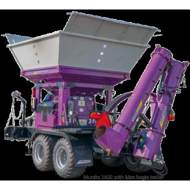 Плющилка зерновая Murska 1400 S 2x2